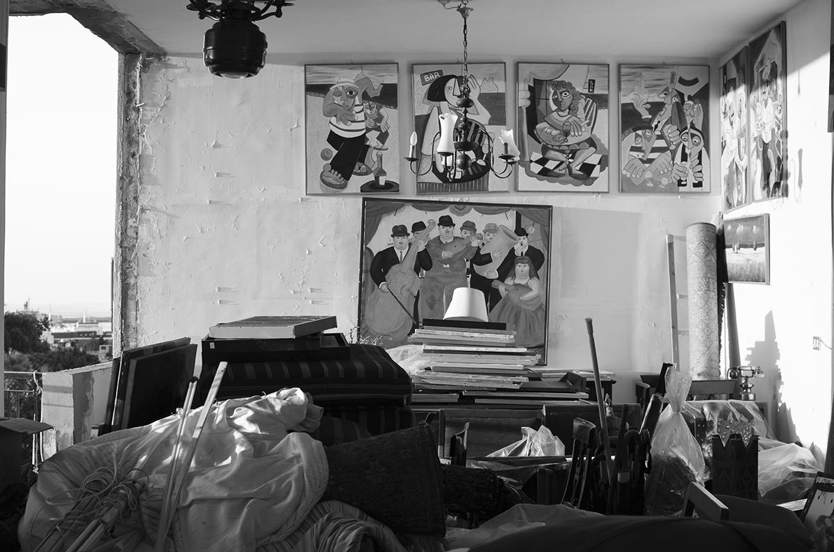 Das Wohnzimmer der Familie al-Khodr